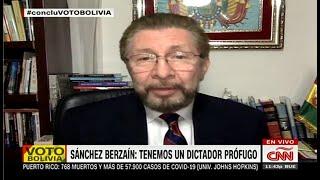 Bolivia: Fraude electoral es proclamar ganador por encuestas.