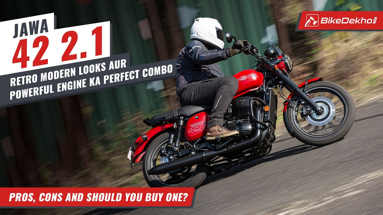 Jawa 42 2.1 : Pros, Cons and Should You Buy One | Youthful, Yet Old School | In Hindi