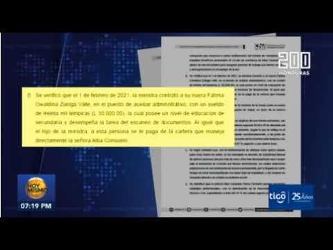 CNA denuncio que Ministra de Salud por favorecer plazas a sus familiares