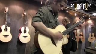 "Thomas Leeb plays Van Halen's ""Jump"" at Lowden Guitars - NAMM 2010"