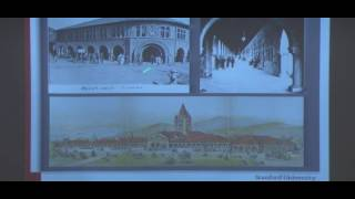 Evolution of Architecture and Landscape at Stanford