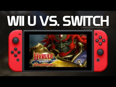 connectYoutube - Hyrule Warriors   Wii U vs. Switch Comparison