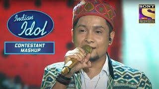Pawandeep Rajan ने दिया Zeenat जी को Tribute   Indian Idol   Contestant Mashup - SETINDIA