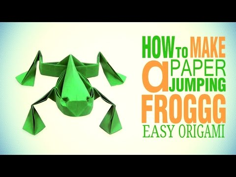 download youtube to mp3 origami jumping frog by toshikazu