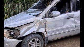Reportaron un accidente de tránsito en la ruta CA-14
