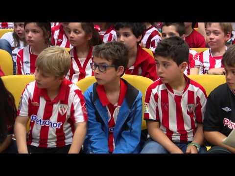 Athletic-eko jokalariak Begoñazpin