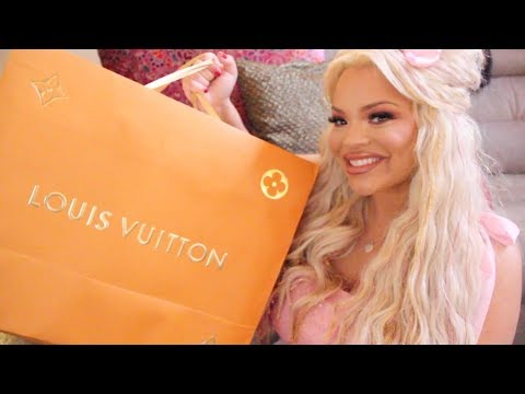 connectYoutube - VALENTINE'S DAY $3,000 LOUIS VUITTON UNBOXING! (JEFF KOONS COLLECTION)