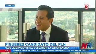 Figueres es candidato oficial del Partido Liberación Nacional