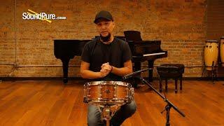 Craviotto 5.5x14 Mahogany Custom Snare Drum