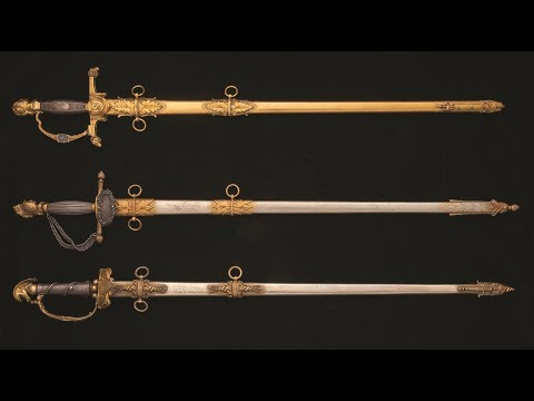 Artisan Swords: A Trio by Tiffany & Co.