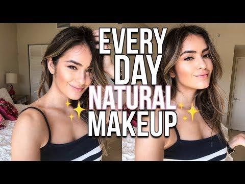 connectYoutube - EVERYDAY NATURAL MAKEUP TUTORIAL | Natalie Barbu
