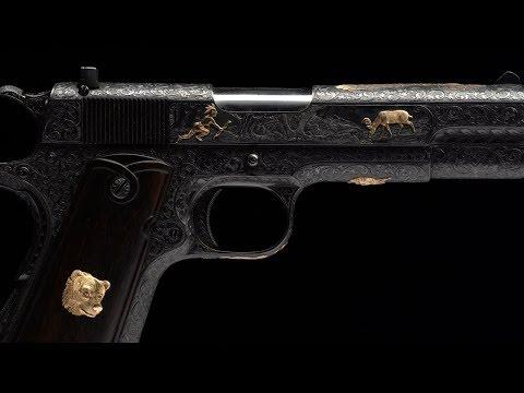3 Master Engraved Colt Pistols