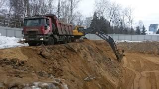 Подготовка плошадки к строительству