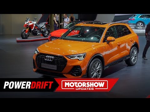 2019 Audi Q3 : Mini Q8 : Paris Motorshow : PowerDrift