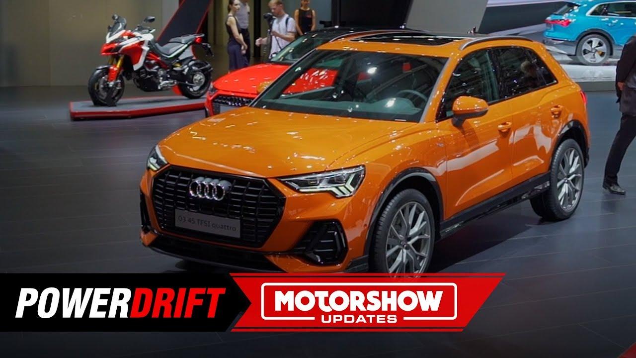2019 Audi Q3 : Mini Q8 : Paris Motorshow : PowerDrift