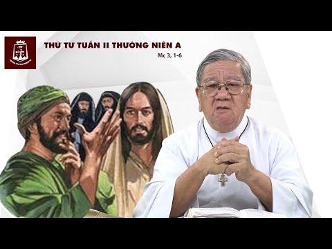 Suy niệm Lời Chúa Thứ  Tư Tuần II Thường Niên A (Mc 3,1-6) - Lm Giuse Nguyễn Tiến Lộc, C.Ss.R. 22/01/2020