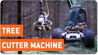 Incredible Tree Cutting Machine | Loggers