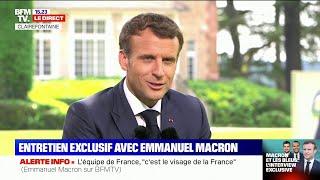 Emmanuel Macron à propos de la gifle qu'il a reçu:
