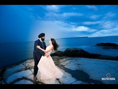 Amazing Sikh Wedding in Vancouver Karanvir + Albel