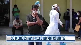 33 médicos han fallecido por coronavirus en el país, aunque Salud detalla que son menos