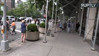 Continúan las manifestaciones contra la brutalidad policial en Nueva York