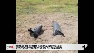 Tropas del Ejército Nacional neutralizan atentados terroristas del ELN en Arauca