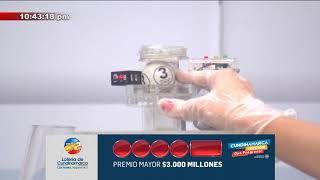 Resultados del Sorteo del Premio Mayor de 3000 Millones de la Lotería de Cundinamarca