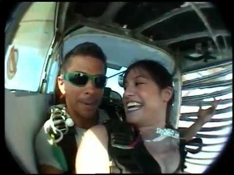 Sky Diving in Aruba