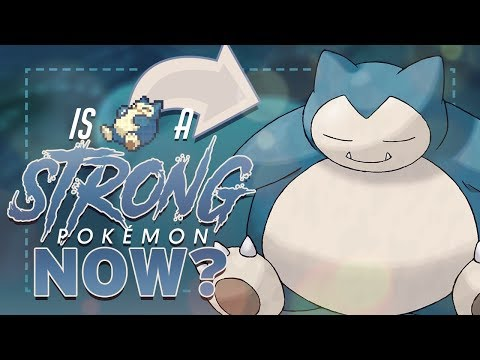 connectYoutube - Is Snorlax A Strong Pokemon Now? Gen 7 Snorlax Competitive Analysis ft. PokeMEN