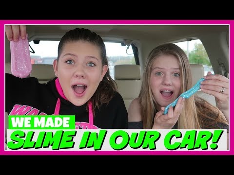 connectYoutube - WE MADE SLIME IN THE CAR || SLIME KIT|| SO SLIME DIY ||Taylor and Vanessa