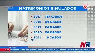 TSE ha detectado 311 matrimonios simulados en los últimos 5 años