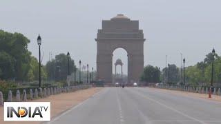 Delhi feels the heat as temperature soars past 45 Degrees - INDIATV