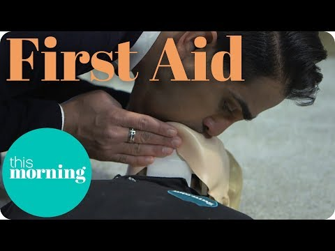 First Aid - How to Perform CPR on an Adult I This Morning
