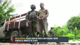 Asestan duro golpe al narcotráfico en Jalapa - Nicaragua