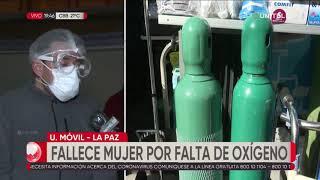 Muere mujer por falta de oxígeno en el Hospital Holandés de El Alto