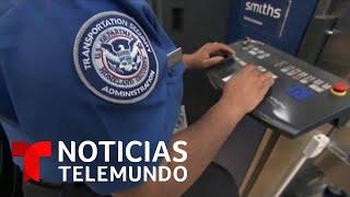 Coronavirus: Nuevos controles contra el coronavirus en los aeropuertos de Estados Unidos | Telemundo