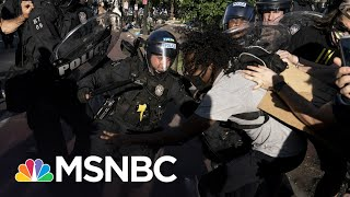 Republicans Dodge Questions On Trump's Violent Removal Of Peaceful Protest | The 11th Hour | MSNBC