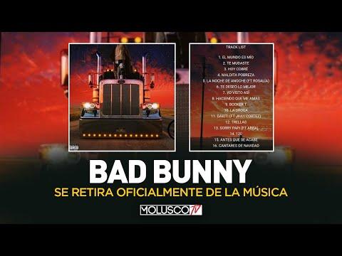 """DETALLES QUE NO SABES DEL RETIRO DE """"BAD BUNNY"""" + DISCO NUEVO"""
