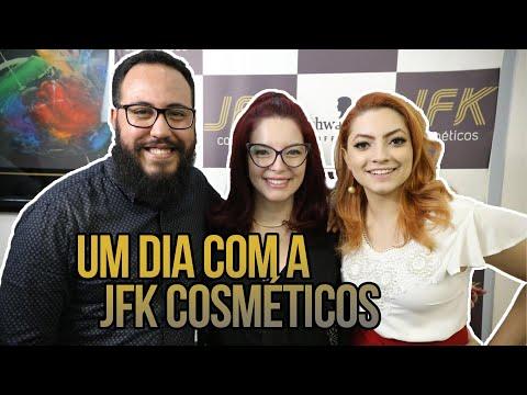 UM DIA COM A JFK COSMÉTICOS   ‹Robson Santos›
