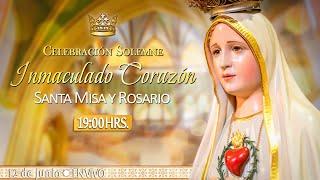 INMACULADO CORAZÓN DE MARÍA????Santa Misa y Rosario????HOY 12 de Junio????EN VIVO
