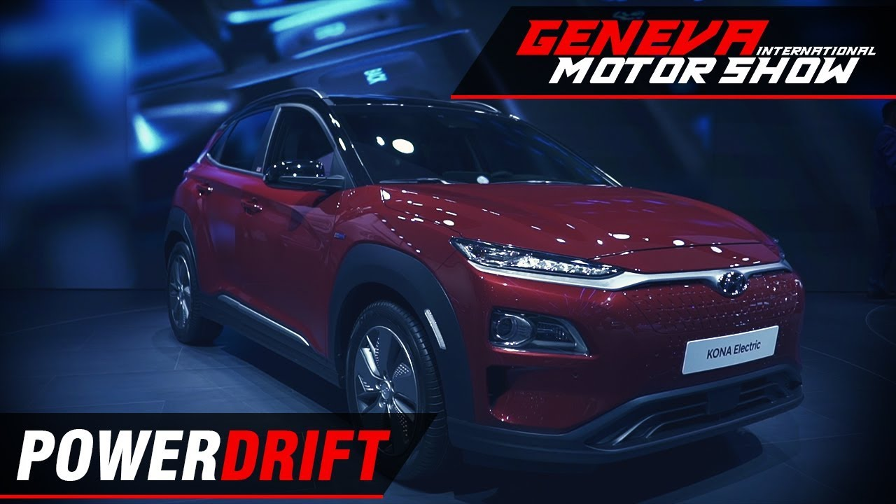 Hyundai Kona - All electric SUV for India : Geneva Motor Show 2018 : PowerDrift