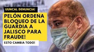 ALFARO NO DEJÓ ENTRAR A LA GUARDIA NACIONAL! JUNCAL DENUNCIA FRAUDE ELECTORAL EN JALISCO