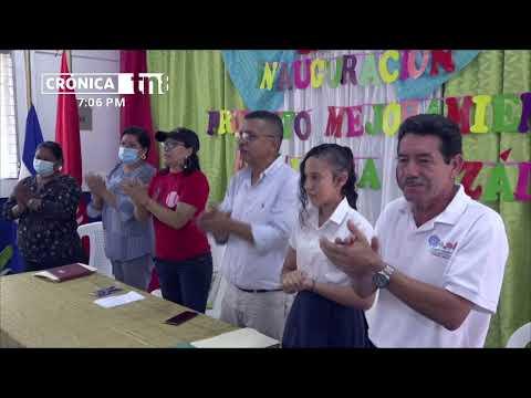 Con una inversión de más un millón de córdobas inauguran aula multiusos Ocotal - Nicaragua