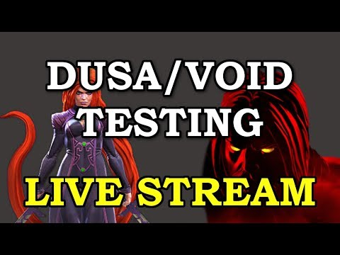 connectYoutube - Void Testing (Temp access with Content Creator Program)   Marvel Contest of Champions Live Stream