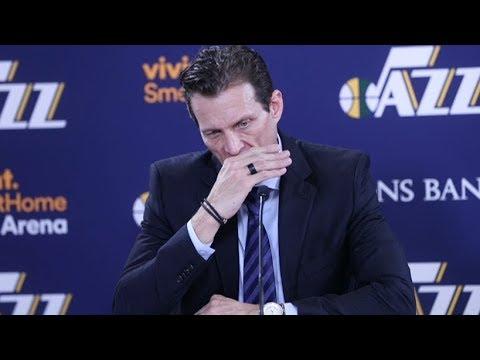 connectYoutube - Quin Snyder Postgame Interview / Jazz vs Knicks / Jan 19