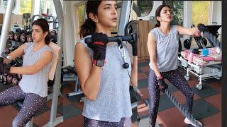 Actress Lakshmi Manchu GYM Workout At Home  | TFPC - TFPC