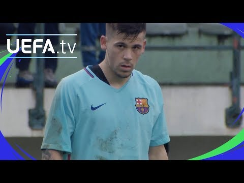 UEFA Youth League highlights: Paris v Barcelona