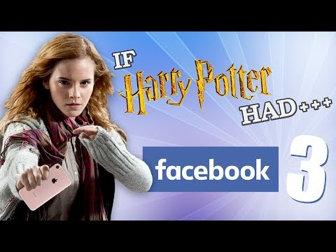 connectYoutube - IF HARRY POTTER HAD FACEBOOK 3