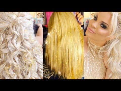 LIFE UPDATES + NEW GLITTER TINSEL EXTENSIONS!