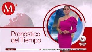 El clima para hoy 26 de febrero, Cecilia Salamanca